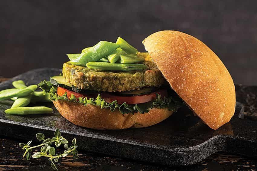 Los platos tradicionales también tiene su versión vegetariana