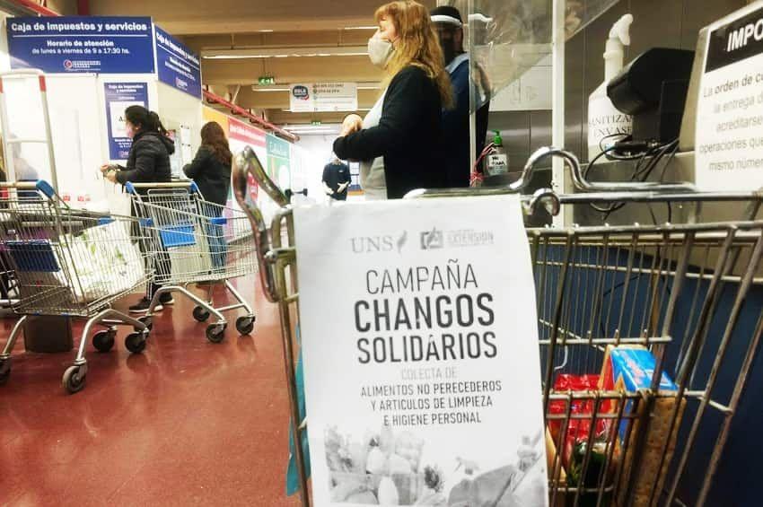 """""""Chango solidario"""" ya entregó  más de 5 toneladas de alimentos"""