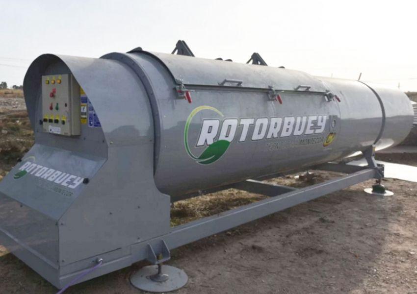 Sistema de última tecnología para compostaje