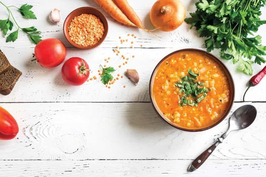 ¡Qué mejor que una rica sopa para combatir el frío!