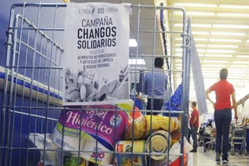 """Tras juntar más de 30 toneladas de alimentos  en 2020, vuelve la campaña """"Changos solidarios"""""""