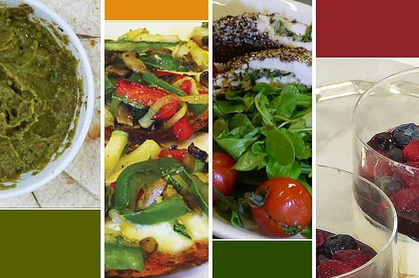Recetas para un menú saludable