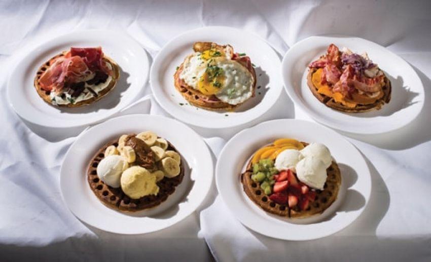 Recetas prácticas y variadas de waffles