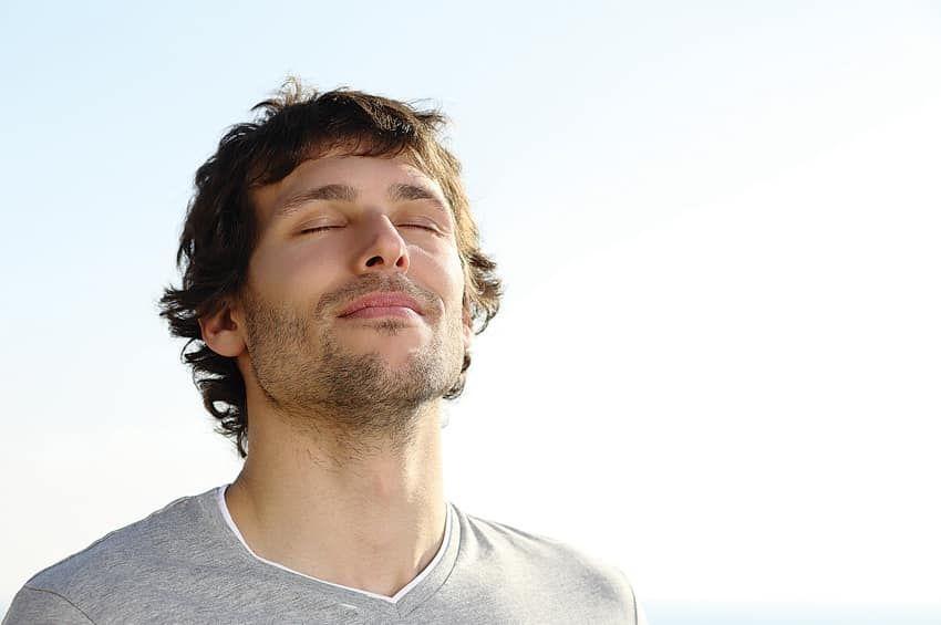 Respirar bien para mantener la calma