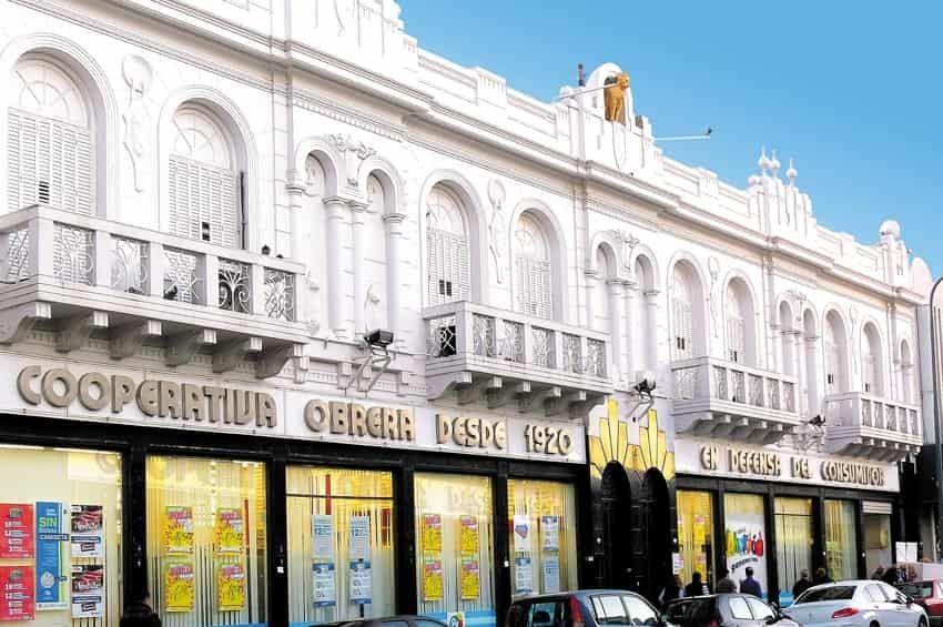 El primer supermercado del sur argentino