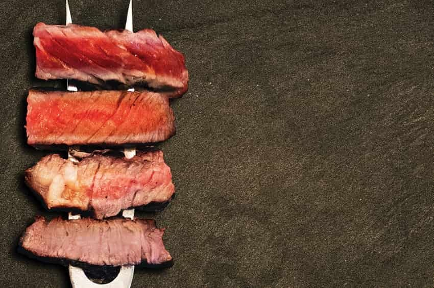 Los puntos de cocción de la carne, una cuestión de gusto